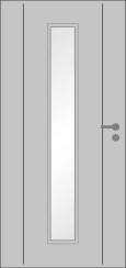 Lisenentür L6 LA008/M