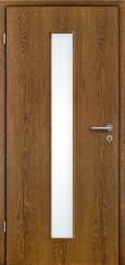 Echtholz furniert Eiche rustikal mit Lichtausschnitt LA008M