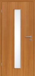 Echtholz furniert Macore mit Lichtausschnitt LA008M