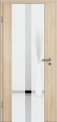 Holzglastür CPL Akazie mit Sandstrahlmotiv SAND 32