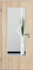 Tür CPL Akazie mit Sandstrahlmotiv SAND 10