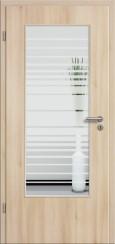 Tür CPL Akazie mit Sandstrahlmotiv SAND 17