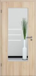 Tür CPL Akazie mit Sandstrahlmotiv SAND 28