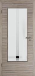 Tür CPL gebürstet Akazie Steingrau mit Sandstrahlmotiv SAND 32