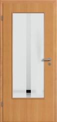 Tür Echtholz furniert Buche mit Sandstrahlmotiv SAND 32