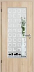Tür CPL Akazie mit Sandstrahlmotiv SAND 325
