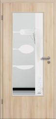 Tür CPL Akazie mit Sandstrahlmotiv SAND 52