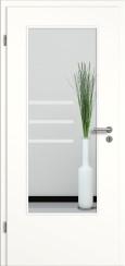 Tür weiß mit Sandstrahlmotiv SAND 28