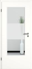 Tür weiß mit Sandstrahlmotiv SAND 33