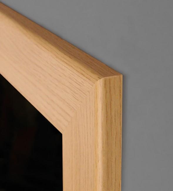 zarge rundkante f r schwere t ren echtholz furniert. Black Bedroom Furniture Sets. Home Design Ideas