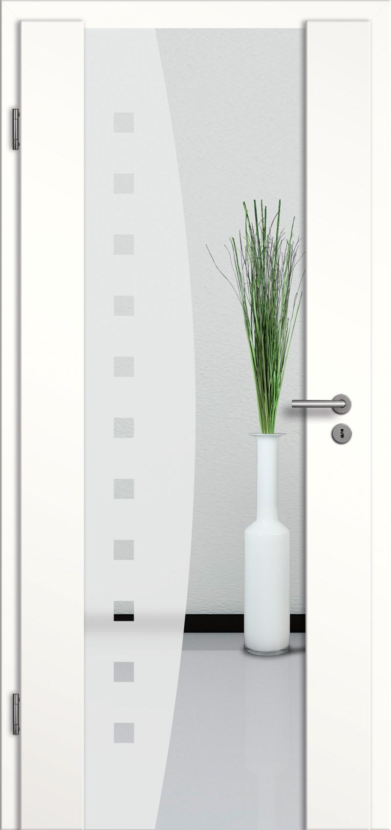 holzglast r mit glasmotiv sand 9 tuer und. Black Bedroom Furniture Sets. Home Design Ideas