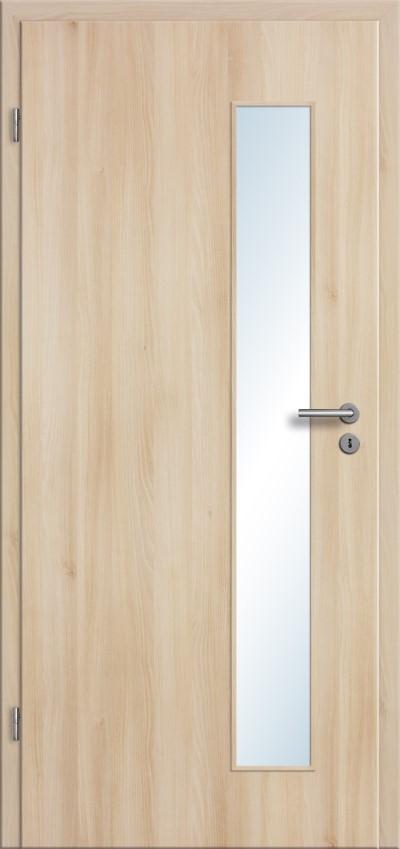 t r rundkante mit lichtausschnitt la008 ds tuer und. Black Bedroom Furniture Sets. Home Design Ideas