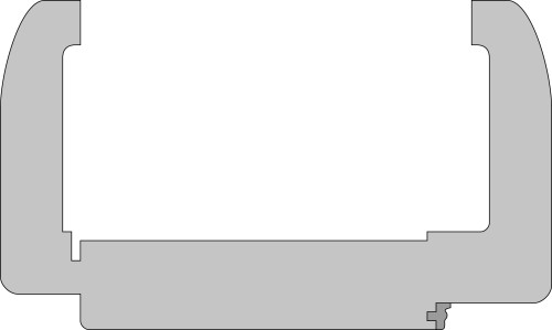 Zarge Profil C1