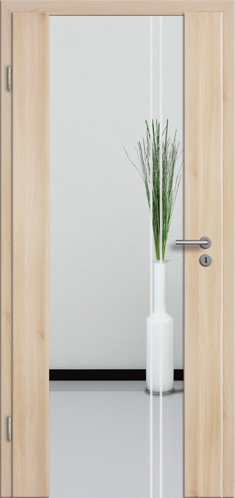 holzglast r mit glasmotiv sand 23 tuer und. Black Bedroom Furniture Sets. Home Design Ideas