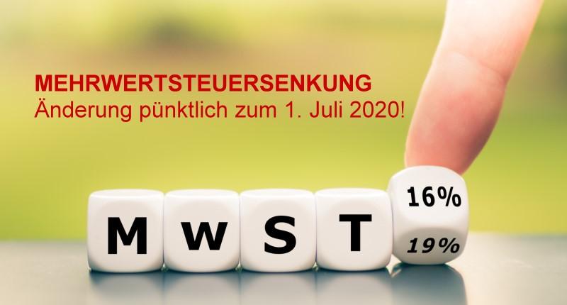 Mehrwertsteuersenkung bei Tür-und-Zarge.de