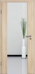 Holzglastür CPL Akazie mit Sandstrahlmotiv SAND 23