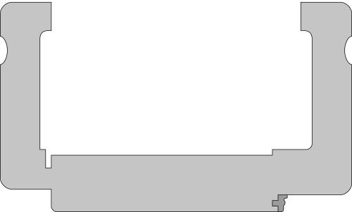 Zarge Profil D1