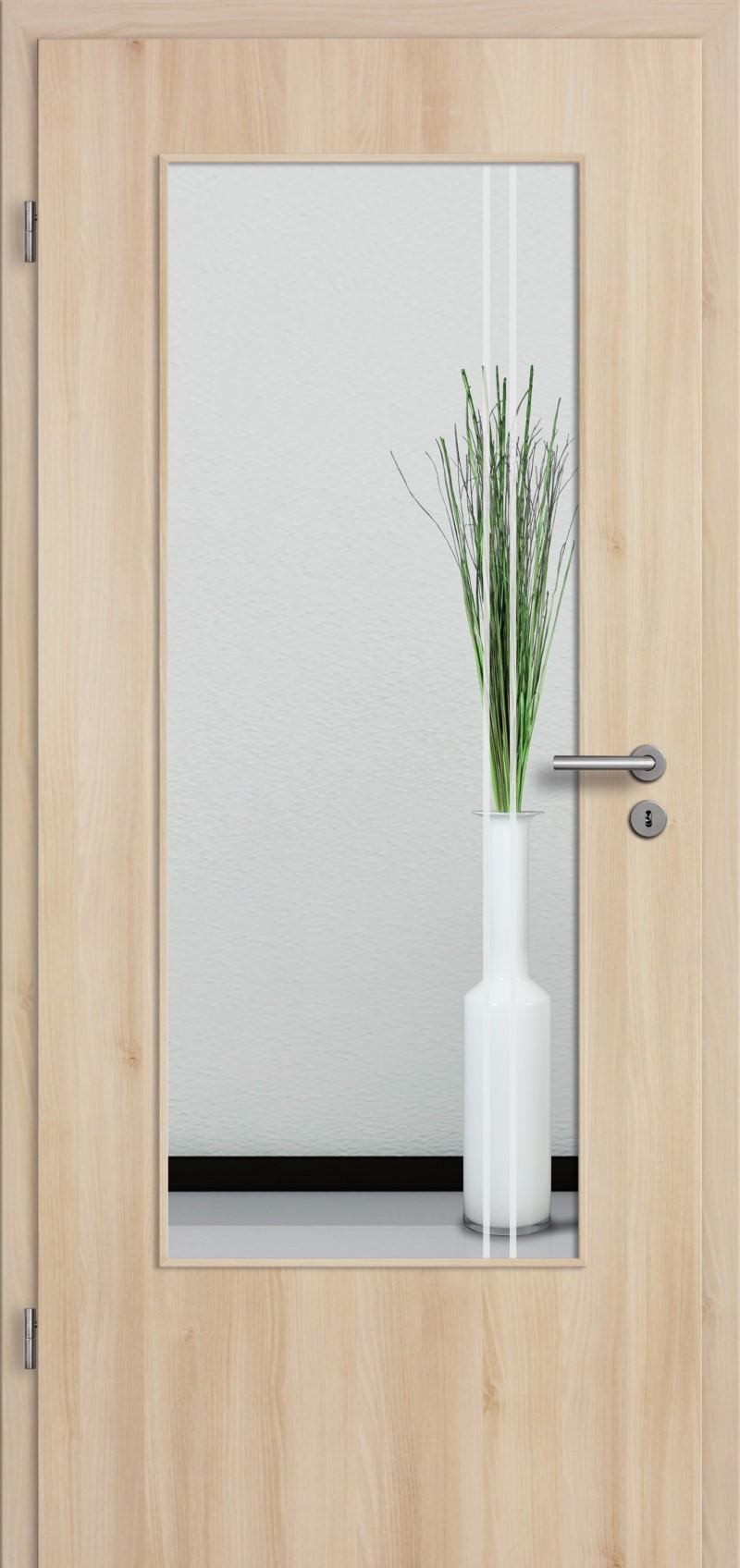 t r designkante mit glasmotiv sand 23 tuer und. Black Bedroom Furniture Sets. Home Design Ideas
