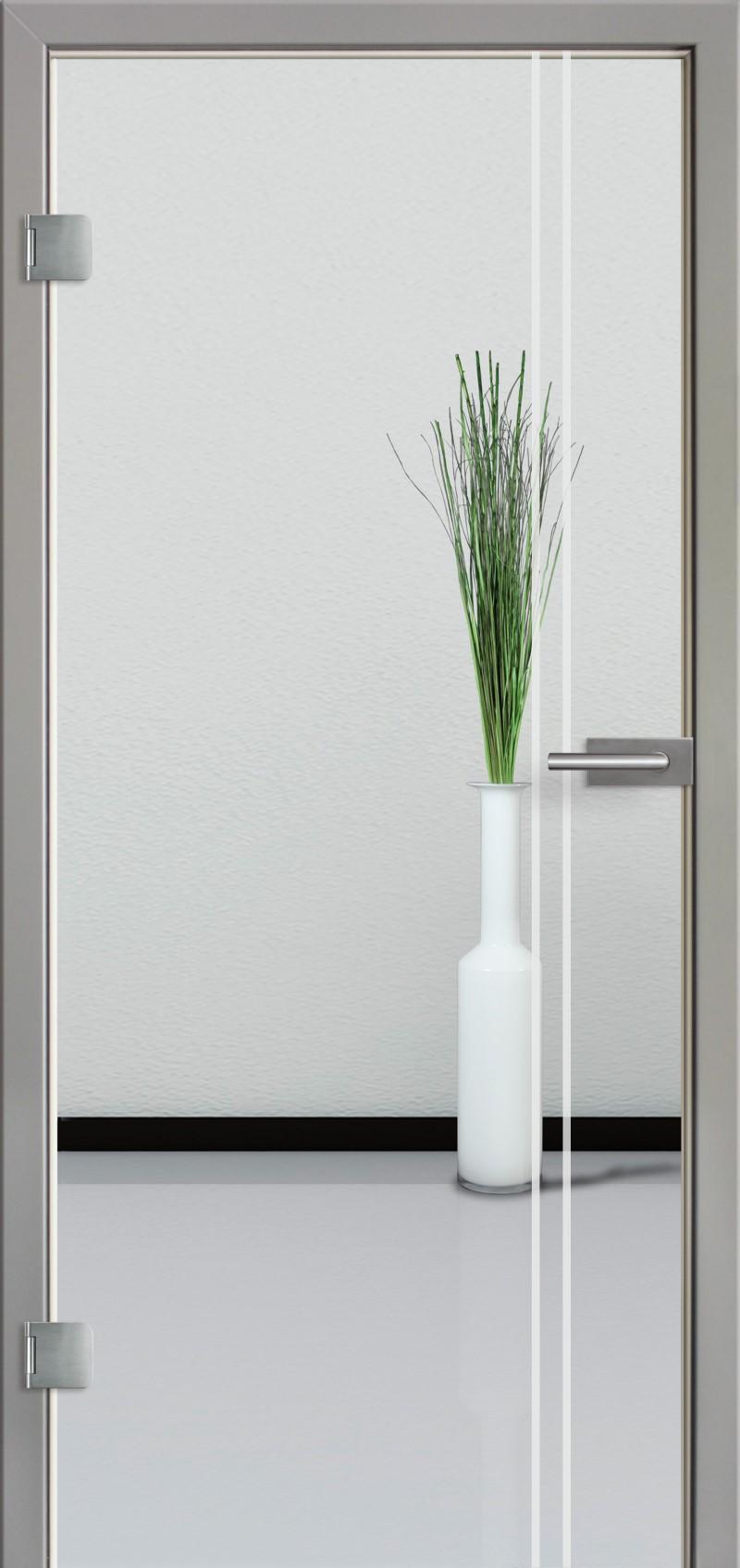ganzglast r mit glasmotiv sand 23 tuer und. Black Bedroom Furniture Sets. Home Design Ideas