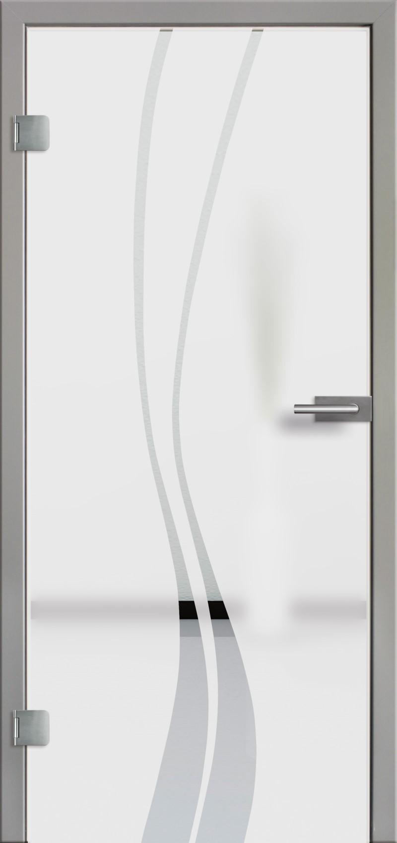 ganzglast r mit glasmotiv sand 51 tuer und. Black Bedroom Furniture Sets. Home Design Ideas