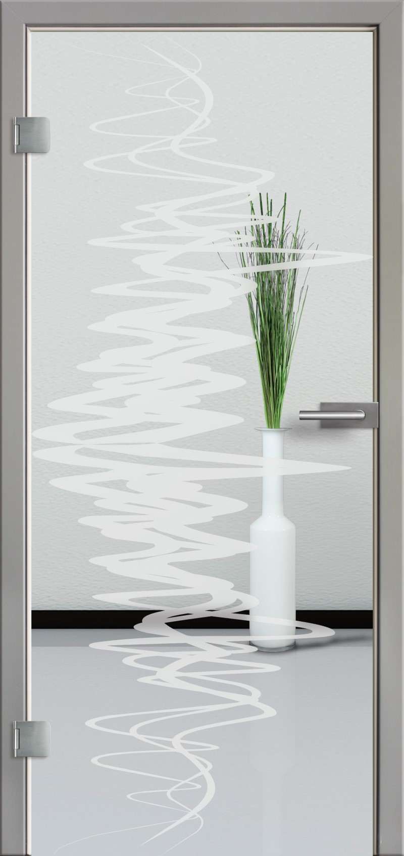 ganzglast r mit glasmotiv sand 37 tuer und. Black Bedroom Furniture Sets. Home Design Ideas