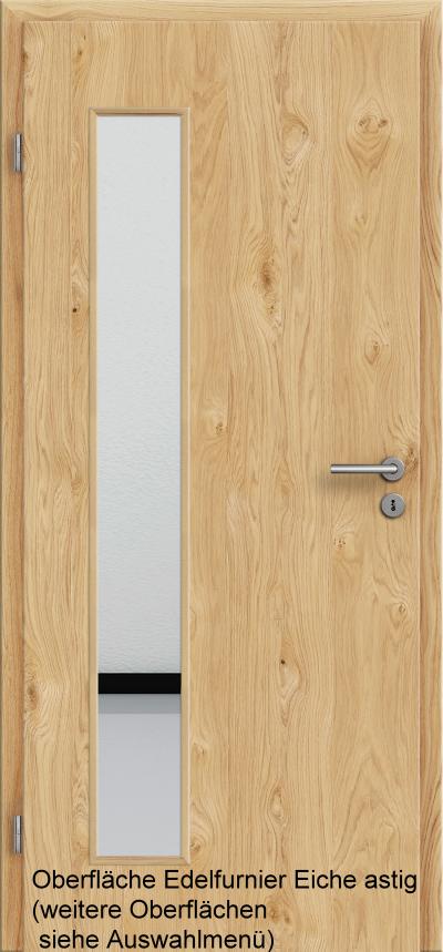 t r rundkante mit lichtausschnitt la008 bs tuer und. Black Bedroom Furniture Sets. Home Design Ideas