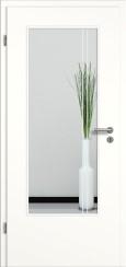 Tür weiß mit Sandstrahlmotiv SAND 23